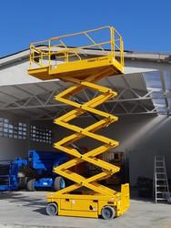 Haulotte Compact 10 vertical pantograph platform - Lot 2 (Auction 4778)