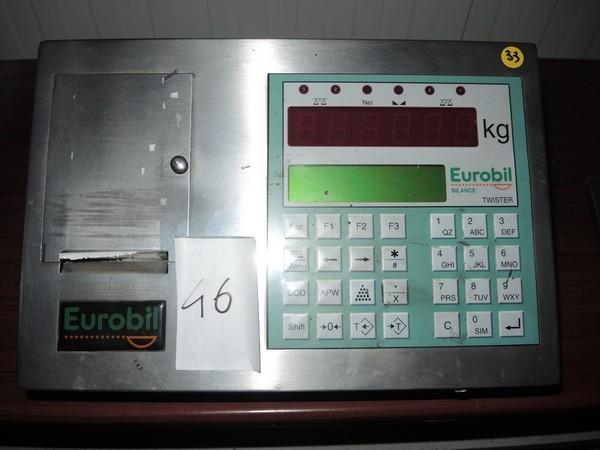 46#4790 Bilancia Eurobil Tw/P