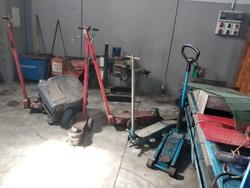 Sollevatori pneumatici da autofficina - Lotto 5 (Asta 4797)