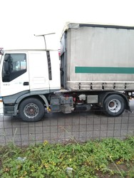 Iveco Stralis road tractor with Lecitrailer semitrailer - Auction 4804