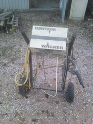 Wagner pump for painting - Lot 1 (Auction 4805)