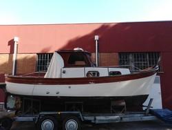Cantieri Guerra e Ruocco model Falco gozzo in fiberglass and wood - Lot 0 (Auction 4811)