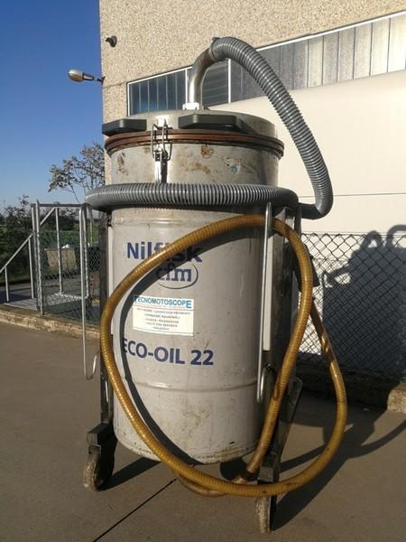 2#4821 Aspiratore industriale per olio e trucioli Ecoil 22