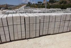 Raw marble tiles and polished steps of Perlato di Sicilia - Lot 1 (Auction 4845)