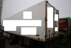 Unicar semitrailer with isothermal container - Lot 14 (Auction 4847)