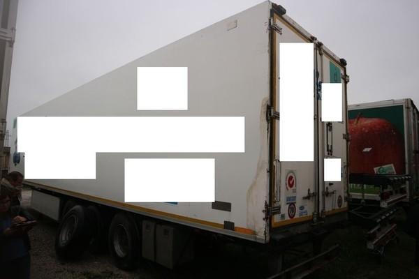 14#4847 Semirimorchio Unicar con cassone isotermico