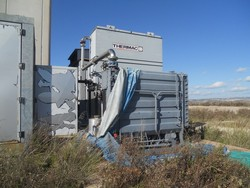 Thermac cooling tower and electric cables - Lot 7 (Auction 4851)