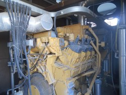 Caterpillar power generator - Lot 9 (Auction 4851)