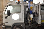 Nissan tipper truck with crane - Lot 13 (Auction 4856)