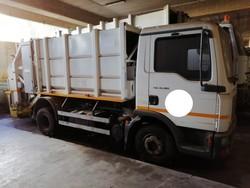 Man Nutzfahrzeuge compactor - Lote 5 (Subasta 4856)