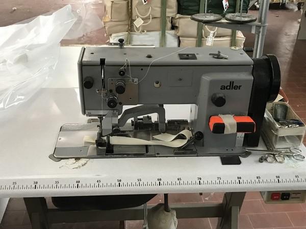 12#4865 Macchine da cucire Adler e Juki