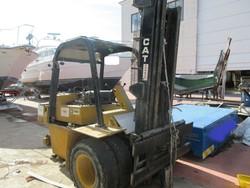 Caterpillar forklift and Miller welding machine - Lot 5 (Auction 4867)