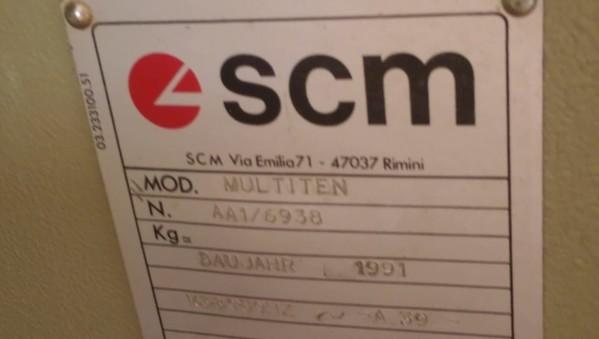 Immagine n. 7 - 1#4874 Linea per lavorazione serramenti Scm System 4s