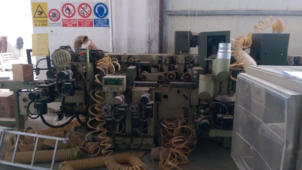 Immagine n. 10 - 1#4874 Linea per lavorazione serramenti Scm System 4s