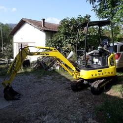 Komatsu PC 16 R mini excavator - Lote 1 (Subasta 4883)