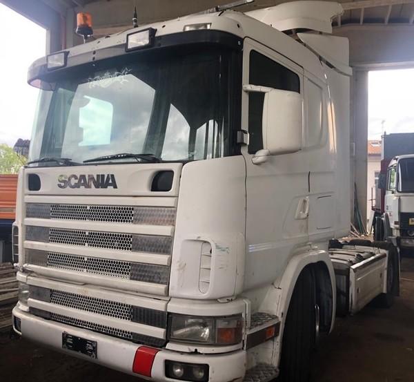 4#4891 Trattore stradale Scania CV R 144 LA 4x2