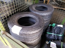 Tyres for caravan and scooter - Lot 7 (Auction 4898)