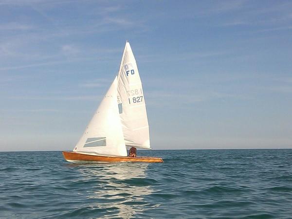 1#4917 Barca a vela Cantiere Morri & Para Flying Dutchman