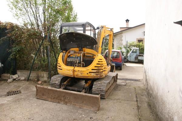 1#4920 Mini escavatore JCB