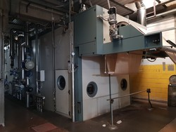 ROBUSTELLI Textile digital printer  Dryer for printer UNITECH  Steamer ARIOLI - Lote 0 (Subasta 4928)