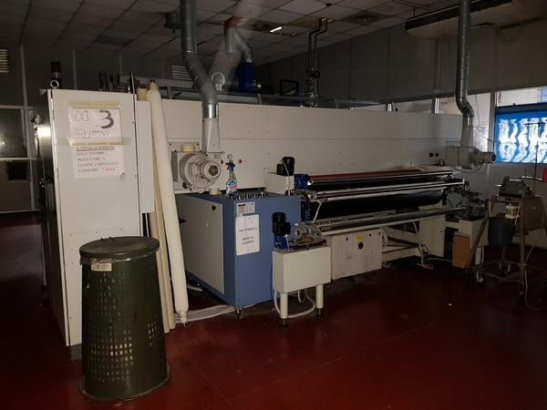 2#4928 ROBUSTELLI Stampante digitale su tessuto e UNITECH Forno per stampa digitale