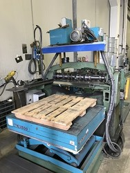 Band cutting line composed of Cevolani rotary shears - Lot 11 (Auction 4934)