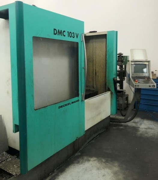 7#4967 Centro lavoro Deckel Maho DMC 103V