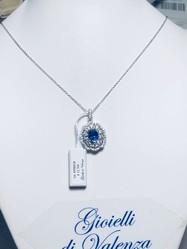 Sapphire pendant - Lot 2 (Auction 4970)