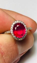 Ruby and diamonds ring aig Milano - Lote 8 (Subasta 4970)