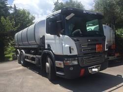 Motrice Scania con cisterna Safa - Lotto 1 (Asta 4973)