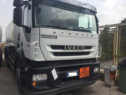 Iveco tractor with Mazzariol tank - Lot 10 (Auction 4973)