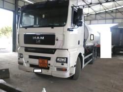 Man truck with Bolgan tank - Lot 2 (Auction 4973)