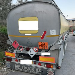 Bolgan semi trailer with tank - Lot 6 (Auction 4973)