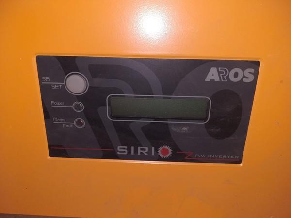44#4979 Inverter SIRIO per impianto fotovoltaico