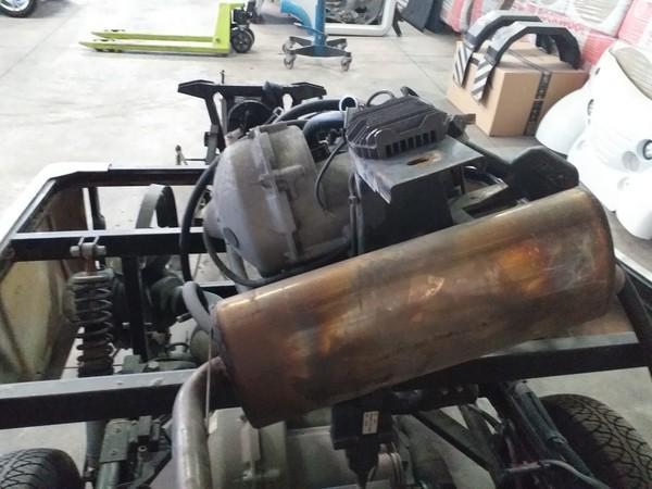 47#4979 Motore moto Morini 500 c.c