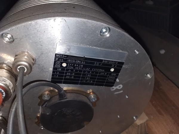 48#4979 Motore elettrico ELETTROADDA nuovo