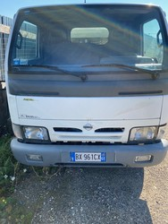 Nissan Cabstar truck with compactor - Lot 26 (Auction 4984)