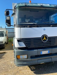 Mercedes vehicle three axle compactor - Lot 48 (Auction 4984)
