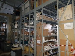 Industrial shelving and workbench - Lot 0 (Auction 4986)