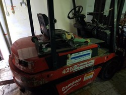 Forklift and transpallet - Lot 4 (Auction 4986)