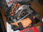 AEG circular saw and Makita screwdriver - Lot 25 (Auction 5016)