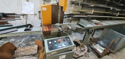Emmegi miter saw - Lot 12 (Auction 5029)