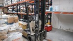Caterpillar forklift and battery charger - Lot 13 (Auction 5037)