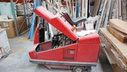 RCM sweeper and Toro lawn mower - Lot 6 (Auction 5037)