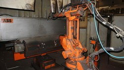 Abb welding robot and Abb welding machine - Lot 59 (Auction 5049)
