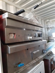 Griddle and deep fryer - Lote 18 (Subasta 5055)