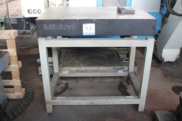 43#5074 Piano di riscontro Mitutoyo + altimetro