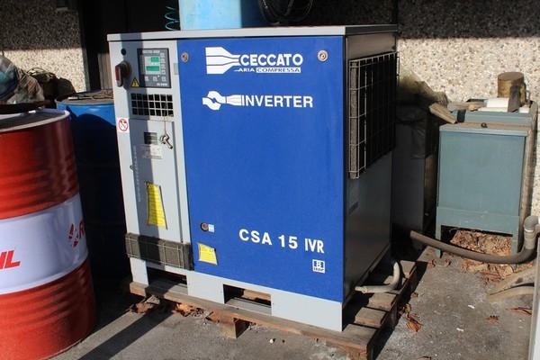 60#5074 Compressore + essiccatore Ceccato