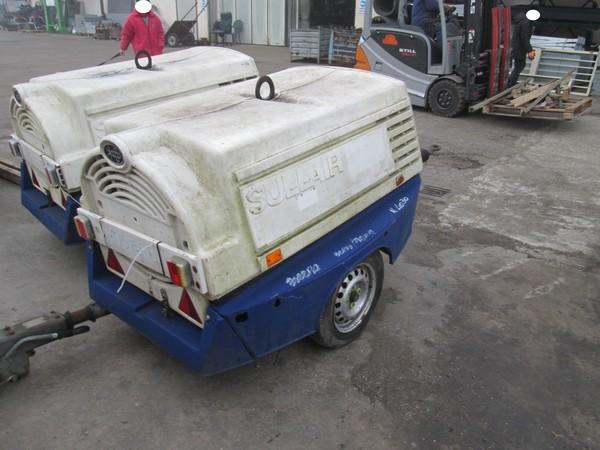 Immagine n. 1 - 10#5085 Compressore carrellato Sullair