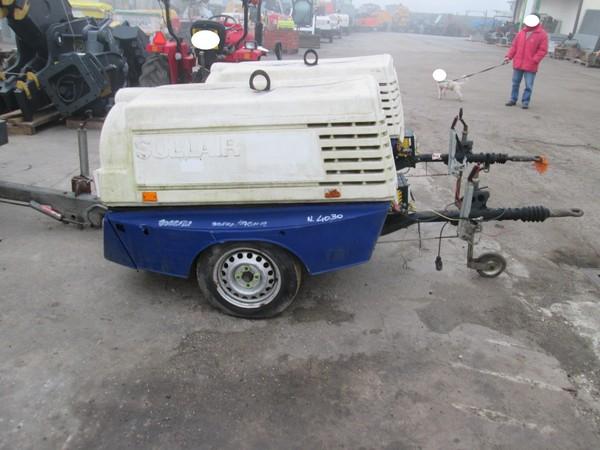 Immagine n. 3 - 10#5085 Compressore carrellato Sullair